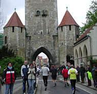Bildbericht vom Regensburg Marathon 2005