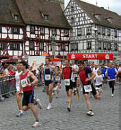Karolinger Halbmarathon in Forchheim 2006