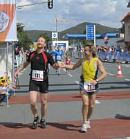 Gutes Benehmen beim Marathonlaufen